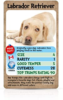 Winning Moves Top Trumps Dogs Card Game