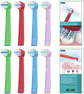 BYDPETE Toothbrush Heads for Oral B Kids Electric Toothbrush