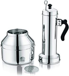 Royalford Stainless Steel Puttu Maker with Pot and Handle