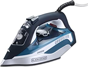 Black+Decker 2400W Steam Iron With Ceramic Soleplate Auto Shut-Off