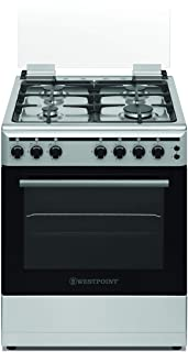 WESTPOINT GAS COOKER 60X60 4 BURNER CI
