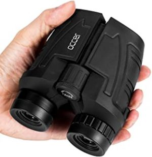 12x25 Compact Binoculars with Low Light Night Vision