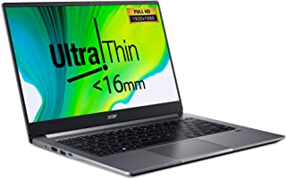 """Acer Swift3 SF314 Ultrathin 10th Gen Intel Core i7-1065G7 QuadCore Upto 3.90GHz/16GB/1TB SSD/2GB NVIDIA® GeForce® MX350+Intel Iris Graphics/14"""" FHD Acer ComfyView™ IPS LED LCD/Win 10 Home/Steel Gray"""
