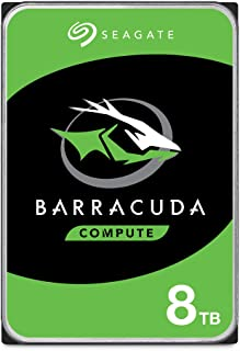 Seagate BarraCuda Internal Hard Drive HDD for Computer Desktop PC – Frustration Free Packaging 8TB ST8000DMZ04/DM004