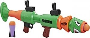 Nerf Fortnite RL Blaster -- Fires Foam Rockets -- Includes 2 Official Nerf Fortnite Rockets -- For Youth