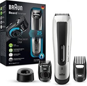 Braun BT5090 Beard Trimmer With 2 Comb Attachments