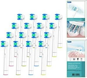 BYDPETE Replacement Toothbrush Head Refills