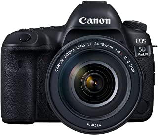 Canon EOS 5D Mark IV 24-105mm F/4L IS II USM Lens - 30.4MP