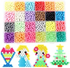 Kids Craft DIY Water Mist Toy Magic Bead Kits Fuse Beads for Beginners Brain Games