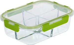 RoyalFord RF9218 1520ml Glass Meal Prep Container | Reusable