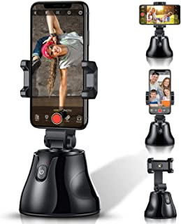【Upgrade】Selfie Stick 360°Rotation Auto Face Object Tracking Smart Shooting Camera Phone Mount