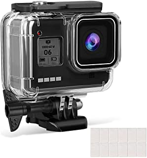 Accessories For Gopro 8 Silicon Protect Cover Housing Case/ 60M Underwater Protective Diving Case