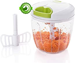 Manual Quick Pull Food Chopper - Speedy Chopper With 5 sharp blades