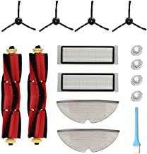 KongDY Accessories For Roborock Vacuum Cleaner S5 MAX S6 S60 S65 S55 S50 E35 Replacement Parts Pack of Hepa Filters