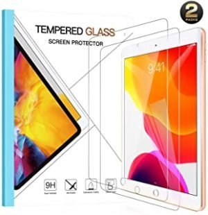 [2 Pack] Benazcap Screen Protector for New iPad 10.2-inch 2020/2019 (8th/7th Generation)
