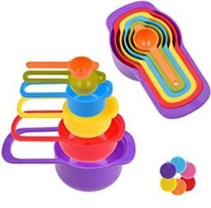 POPOY measuring cup and spoon-six-piece set