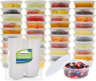 Freshware Food Storage Containers with Lids Plastic Containers