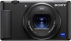 Sony ZV-1 Vlog Camera with Fast and Precise Focus Transition