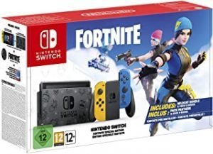 Nintendo Switch Console: Fortnite Special Edition
