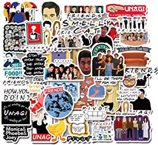 KG20 55 PCS FRIENDS TV Show vinyl Stickers