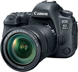 Canon 1897C021 EOS 6D Mark II 24-105mm f/3.5-5.6 IS STM Lens