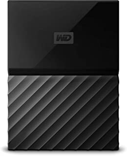 Western Digital WDBYNN0010BBK-WESN Passport 1 TB Portable Hard Drive for PC