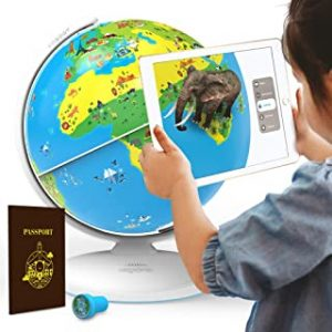 Shifu Orboot The Educational Augmented Reality Based Globe For Kids 4-10 Years (Multicolour)