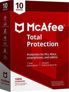 MCAFEE TOTAL PROTECTION 2018 - 10 USERS