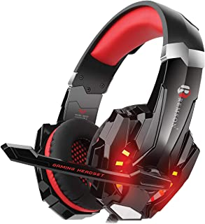 Remson Gaming Headset Noise Cancelling Over Ear Headphone with Mic