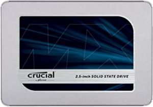 Crucial MX500 250GB 3D NAND SATA Internal SSD 2.5 inch - CT250MX500SSD1