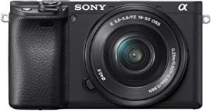 Sony Alpha a6400 Mirrorless Camera with 16-50 Lens Kit