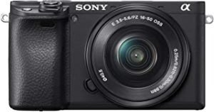 Sony Alpha a6400 Mirrorless Camera with 18-55 Lens Kit