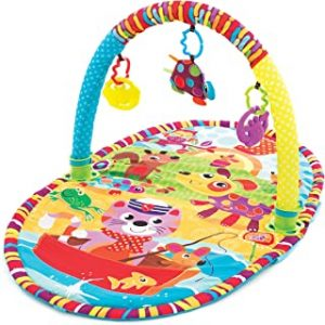 Playgro Play in the Park Activity Gym for Infant Toddler Children - Multi Color