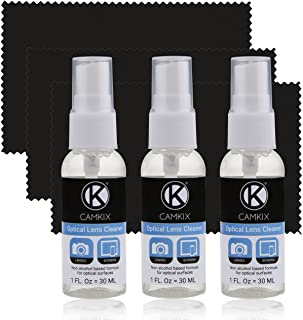 Camkix Lens and Screen Cleaning Kit - Cleaning Spray