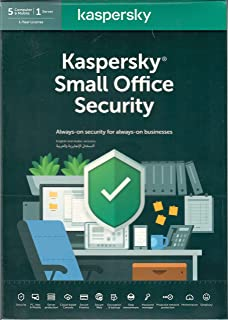 Kaspersky Small Office Security 2020 - 5 Users - Authentic Middle East Version - 1Year