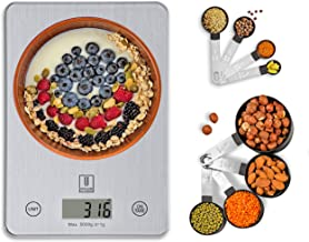 Upscaler Food Scale WITH Measuring Cups & Spoons