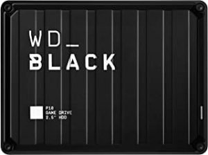 WD Black 4TB P10 Gaming Hard Drive
