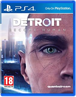 Detroit: Become Human Video Game for Playstation 4 Rated Pegi 18 (9396772)