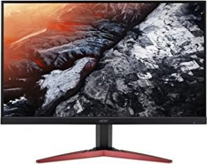 "Acer Gaming Monitor- KG271 P- 27"" (Full HD)1920 x 1080- Rapid overclock to 165Hz- AMD FreeSync-Blue Light Shield-Zero frame-Black -2 years warranty"
