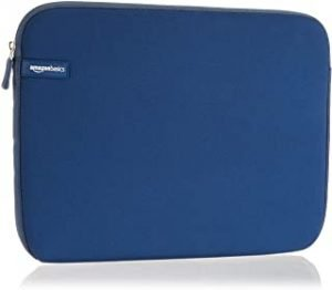 AmazonBasics 13.3 Inch Mabook Laptop Sleeve Case - Navy