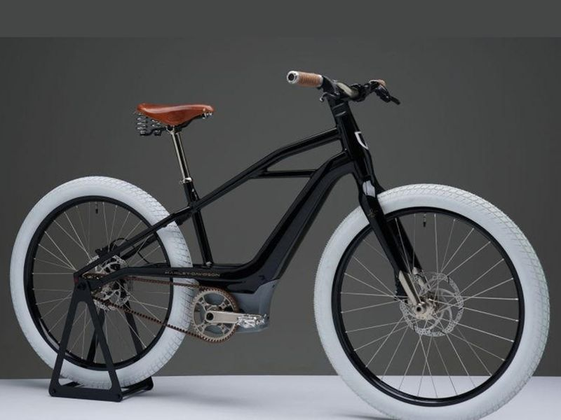 Harley-Davidson's new electric bicycle 'Serial 1'.