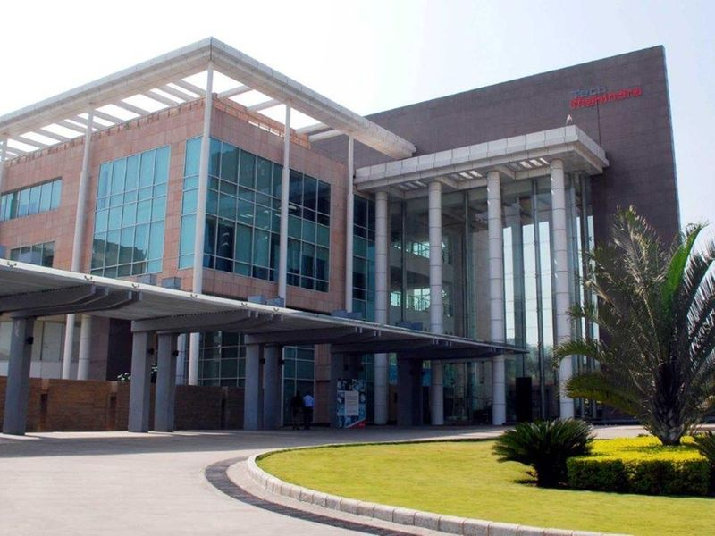 File photo: A view of the Hyderabad Campus of Tech Mahindra.