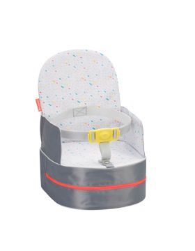 Badabulle Travel Booster Seat 2 In 1 Grey 18+ Months