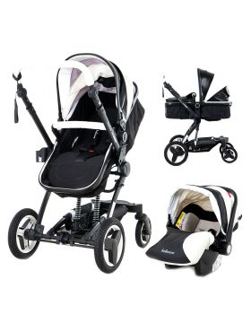 Belecoo 8 Piano - 4 in 1 Luxury Travel System