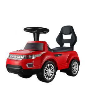 Little Angel Baby Toy Ride On Walking Car Red