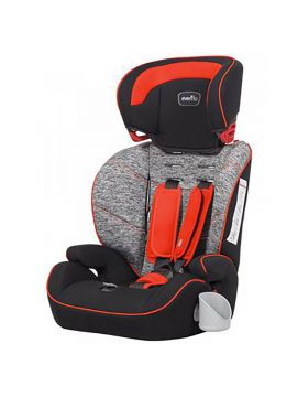 Evenflo Sutton 3-in-1 Booster Car Seat Red