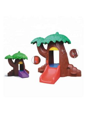 Xiangyu Indoor playhouse magic tree children plastic playhouse for kids