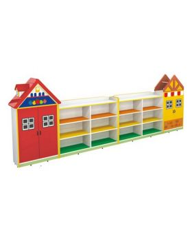 XT Wonderful House Modelling Kindergarten Toy Cabinet