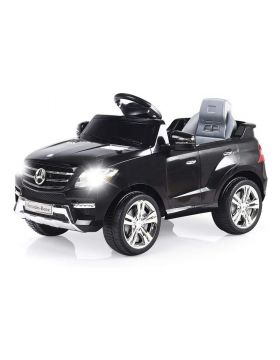 Little Angel - Mercedes-Benz ML350 Electric Ride On Toy Car - Black
