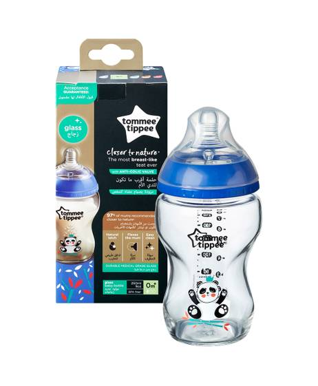 Tommee Tippee Closer To Nature Glass -250ML